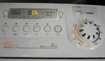 Ошибки в стиральных машинах Кэнди