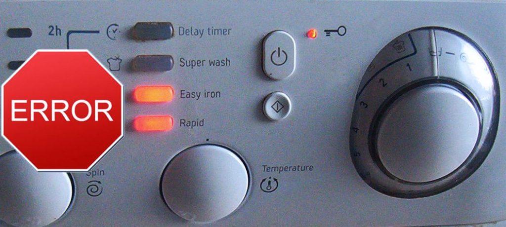 Ошибки в стиральных машинах Фагор