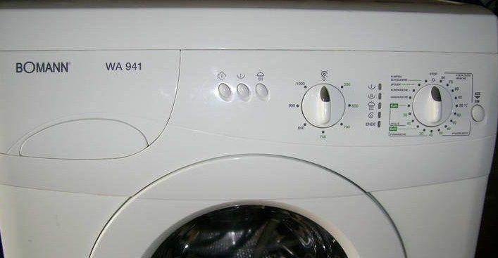 Неисправности стиральных машин Боманн