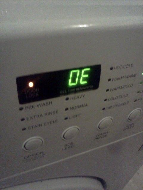 Ошибки стиральных машин Дэу