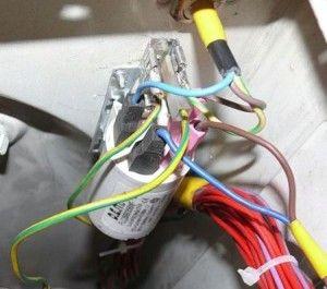 Проблемы с включением СМА Электролюкс
