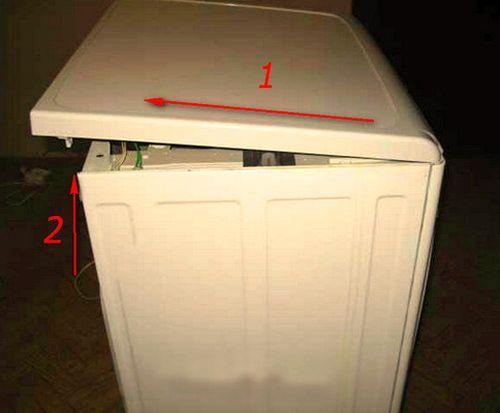 Замена сетевого фильтра в стиральной машине Индезит
