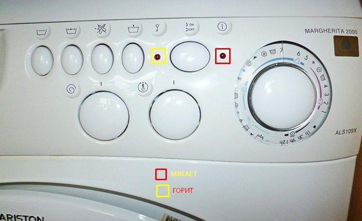 Ошибка F12 в стиральной машине Аристон