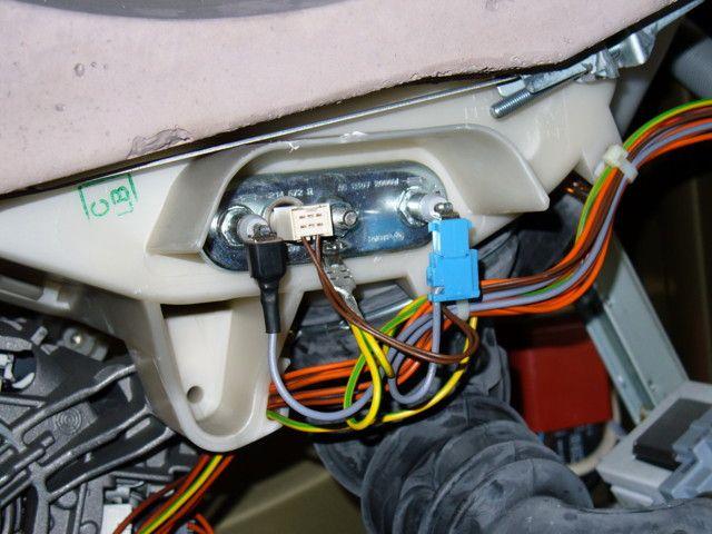 Поломка нагревателя в машине Электролюкс