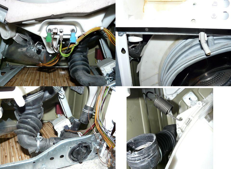 Ремонтируем сливной насос и фильтр, прессостат машинки Bosch