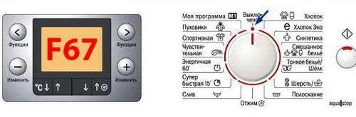 Ошибка F67 в стиральной машине Бош