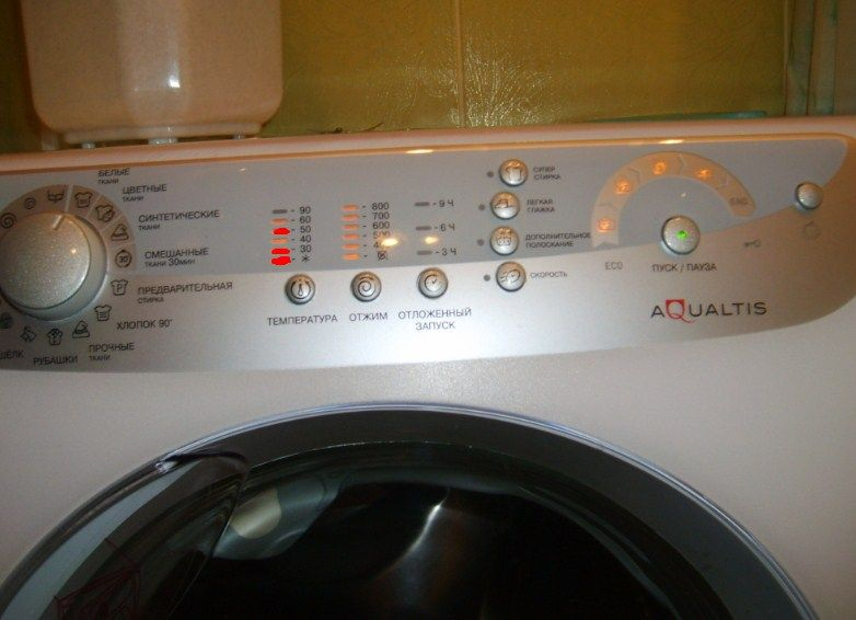 Ошибка F11 в стиральной машине Аристон