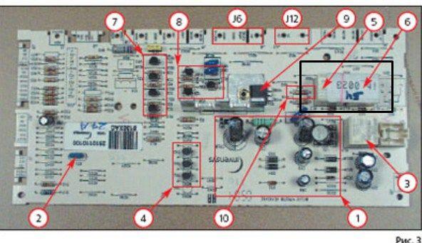 Ошибка F44 в стиральной машине Бош