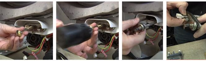 Замена ТЭНа (F2) в машинке Ардо своими руками