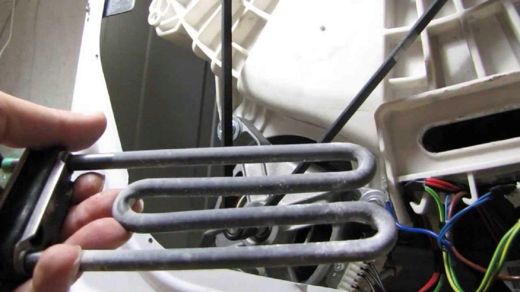 Нет нагрева воды в машинке Electrolux