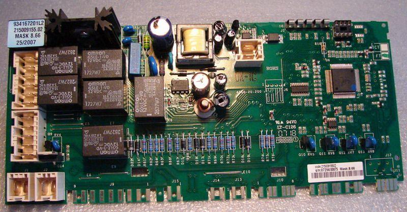 Проблемы с электроникой в машинке Хайер