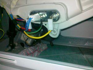 Ошибка PF в стиральной машине LG