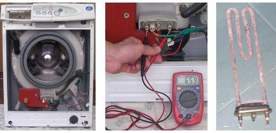 Проблема с нагревом воды в машинке Beko
