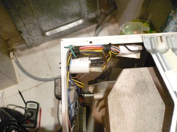 Поломки в электросети стиральной машины Ханса
