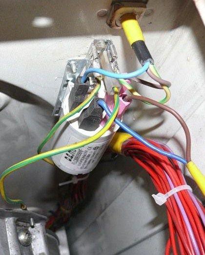 Ошибка F40 в стиральной машине Бош