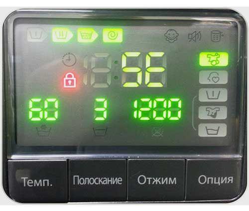 Ошибка 5Е, SE в стиральной машине Samsung