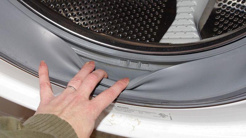Ошибка Ed, dE, Door в стиральной машине Samsung