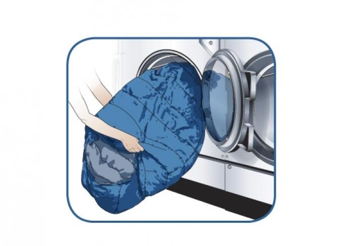 Можно ли стирать спальный мешок в стиральной машине