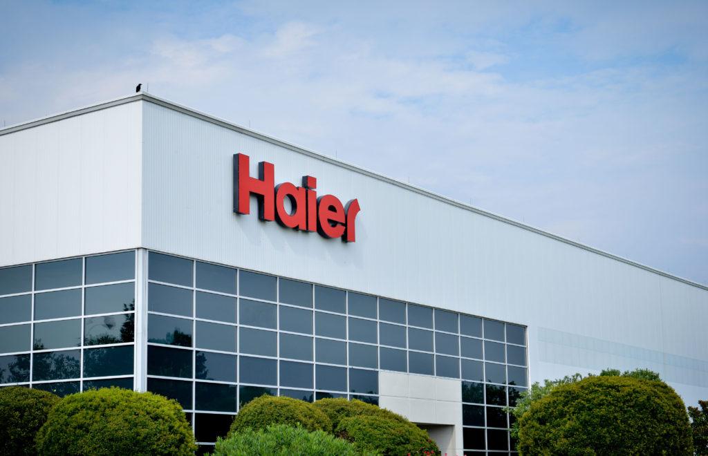 Где производят стиральные машины Haier