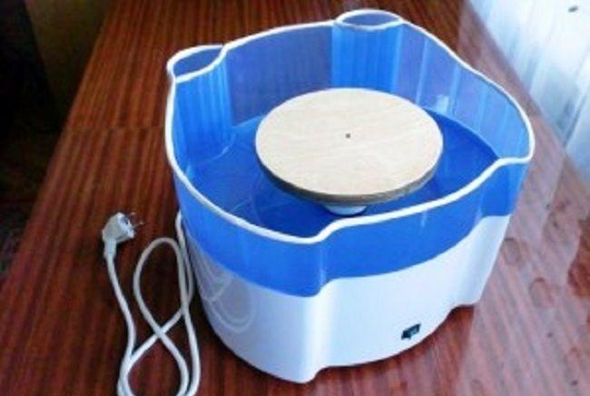 Как сделать гончарный круг из стиральной машины