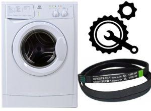 Как надеть ремень на стиральную машину