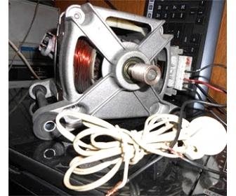 Как подключить двигатель стиральной машины
