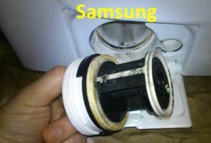 Как почистить фильтр в стиральной машине Samsung