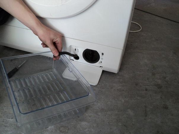 Где искать фильтр в стиральной машине LG