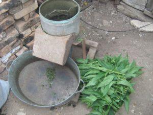 Измельчитель травы из бочки своими руками фото 21