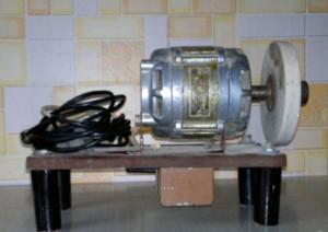 Как сделать из электродвигателя от стиральной машины 90
