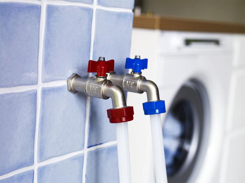 Как подключить стиральную машину к горячей воде