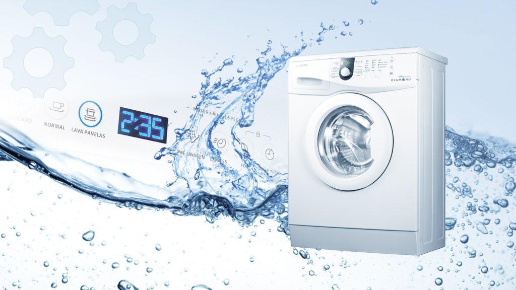 Каков расход воды в стиральной машине