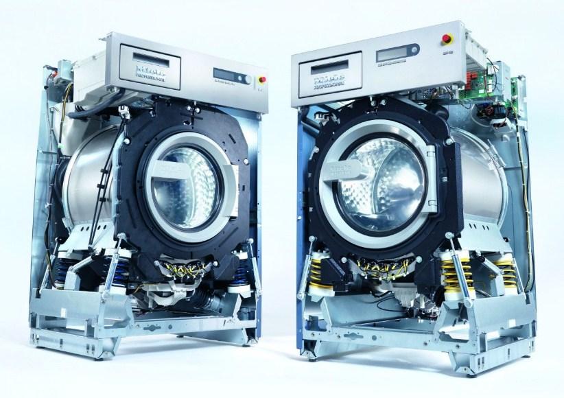 Внутреннее устройство стиральных машин Миле