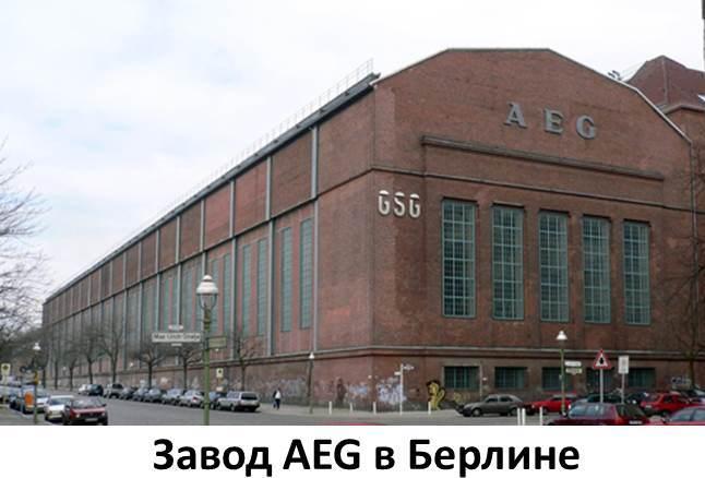 Производство и сборка стиральных машин «АЕГ»