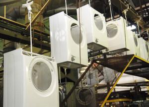 Где производят и собирают стиральные машины Candy
