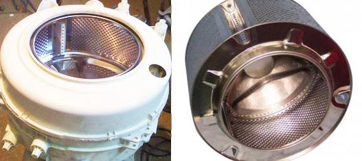 Когда нужна замена барабана в стиральной машине