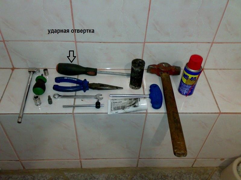 Какой нужен инструмент