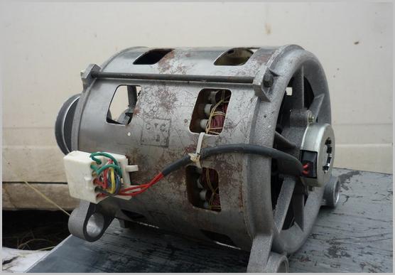 Как работает двигатель стиральной машины: разновидности