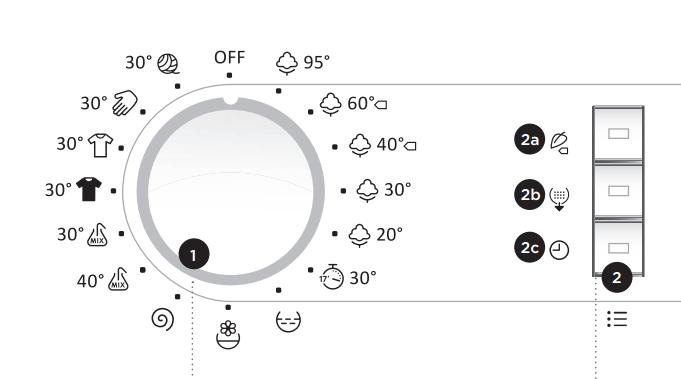 Режимы стирки в стиральной машине: особенности и обозначения