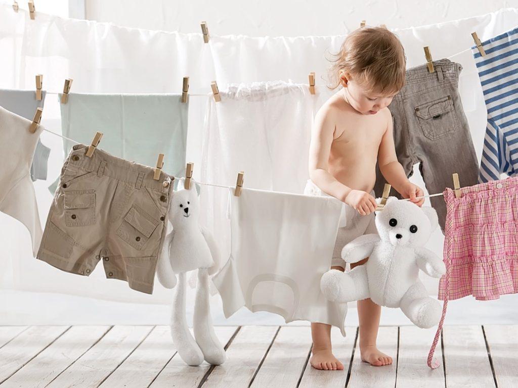 Белье новорожденного: что знать обязательно