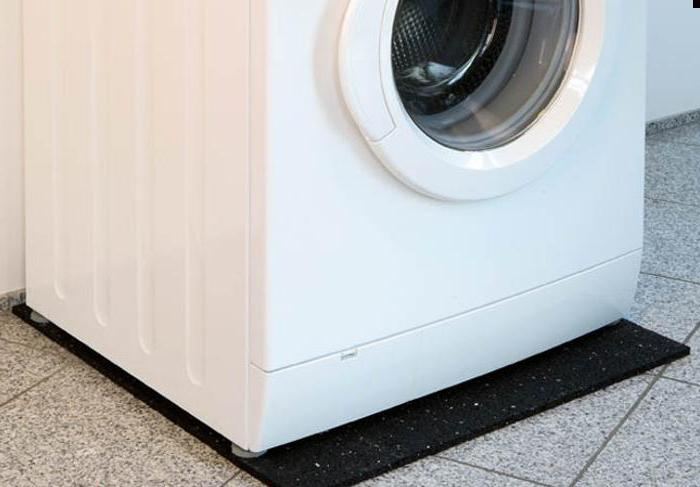 Как выбрать антивибрационные подставки для стиральной машины