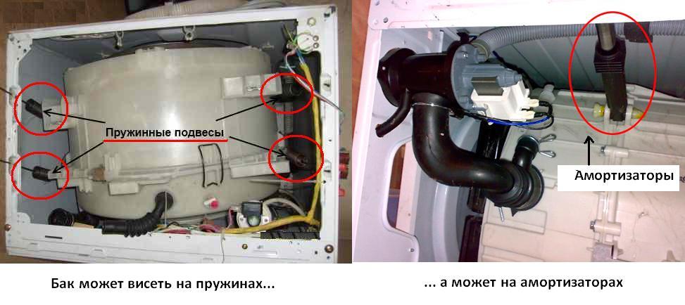 Что делать, если слетел барабан в стиральной машине