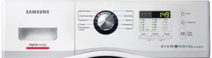 Что означает маркировка на машинке «Самсунг»