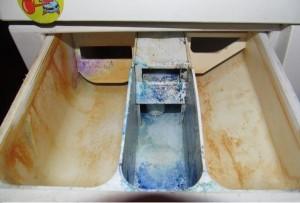 Плесень на деталях стиральной машины