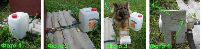 Как сделать насос для полива из старой стиральной машины
