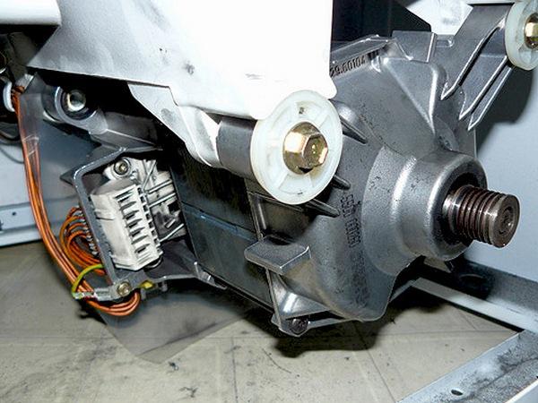 Демонтаж асинхронного двигателя
