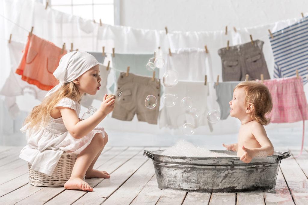 Устранение пятен на пеленках и одежде