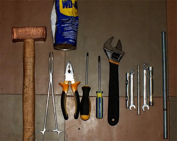 Какие инструменты будут нужны