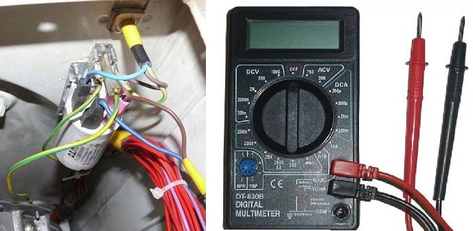 Как проверить помехоподавляющий конденсатор
