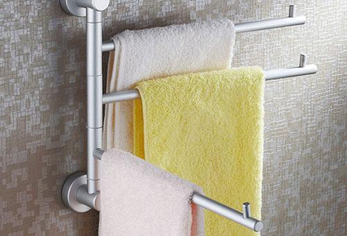 Как сушить полотенца